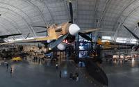Aircraft in a museum wallpaper 3840x2160 jpg