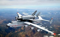 Antonov An-225 with Buran space shuttle wallpaper 1920x1200 jpg
