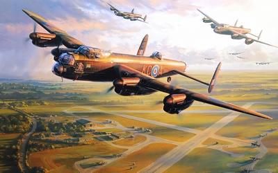 Avro Lancaster wallpaper