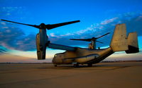 Bell-Boeing V-22 Osprey wallpaper 2560x1600 jpg