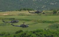 """Bell UH-1 Iroquois """"Huey"""" wallpaper 2560x1600 jpg"""