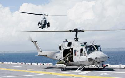 Bell UH-1N Twin Huey wallpaper