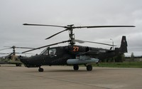 Black Kamov Ka-50 wallpaper 2880x1800 jpg