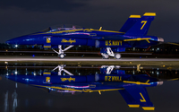 Blue Angels FA-18 Hornet wallpaper 2560x1600 jpg