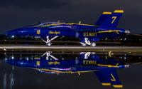 Blue Angels FA-18 Hornet wallpaper 2560x1600 jpg
