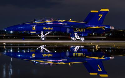 Blue Angels FA-18 Hornet wallpaper