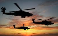Boeing AH-64 Apache wallpaper 2560x1600 jpg