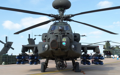 Boeing AH-64 Apache ready to attack wallpaper