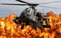Boeing AH-64D Apache Longbow wallpaper 2560x1600 jpg