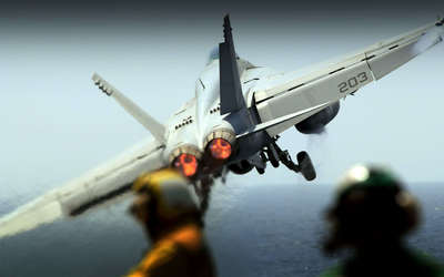 Boeing F/A-18E Super Hornet wallpaper