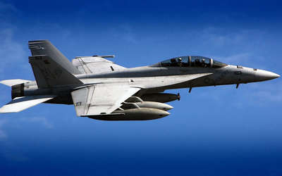Boeing F/A-18F Super Hornet wallpaper