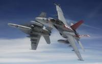 Boeing F/A-18F Super Hornet [2] wallpaper 2560x1600 jpg