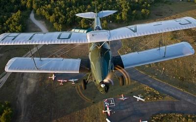 DH.83 Fox Moth wallpaper