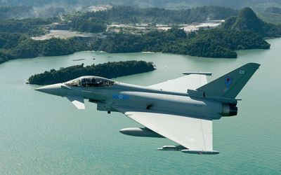 Eurofighter Typhoon [9] wallpaper