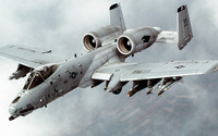 Fairchild Republic A-10 Thunderbolt II [4] wallpaper 1920x1080 jpg