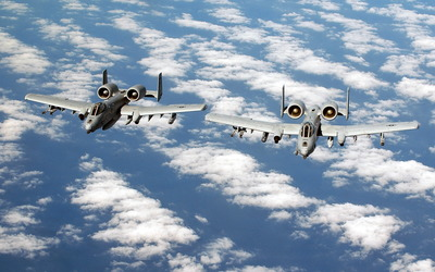 Fairchild Republic A-10 Thunderbolt II [7] wallpaper