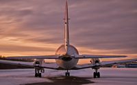 Frozen Hawker Siddeley HS 748 wallpaper 1920x1200 jpg
