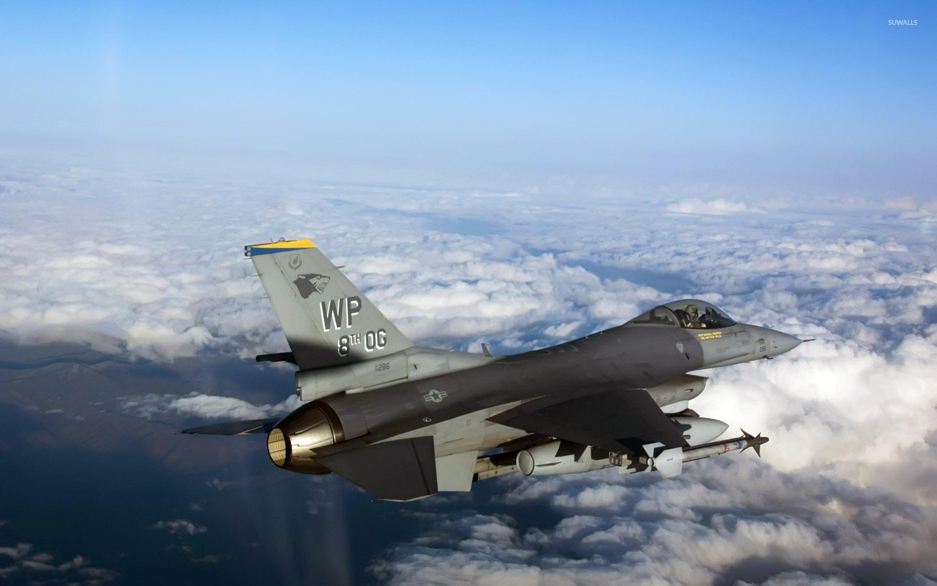 General Dynamics F-16 Fighting Falcon [14] Wallpaper