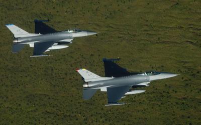 General Dynamics F-16 Fighting Falcon [17] wallpaper