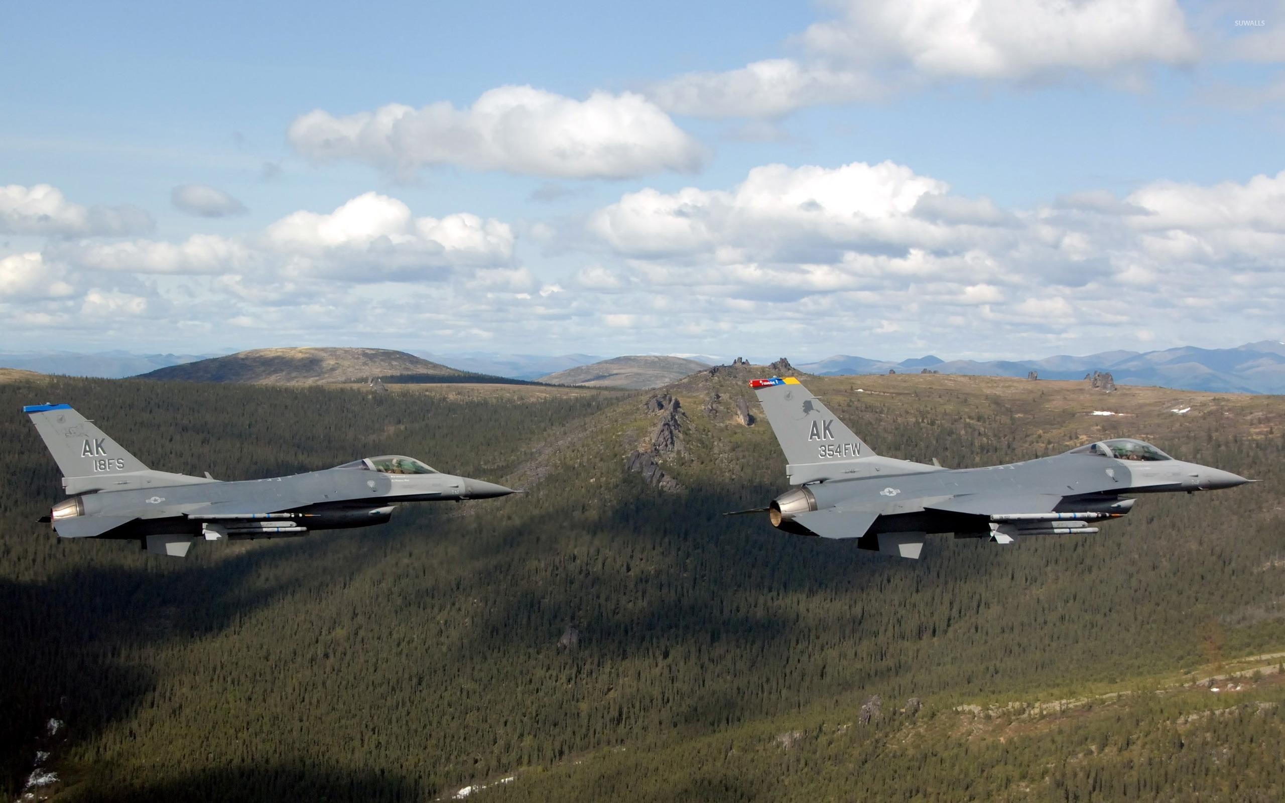 General Dynamics F-16 Fighting Falcon [16] wallpaper