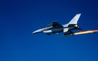 General Dynamics F-16 Fighting Falcon [11] wallpaper 1920x1200 jpg