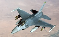 General Dynamics F-16 Fighting Falcon [9] wallpaper 1920x1200 jpg