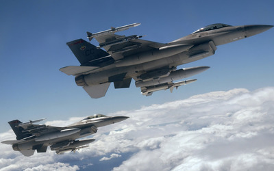 General Dynamics F-16 Fighting Falcon [24] wallpaper