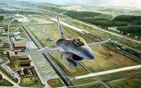 General Dynamics F-16 Fighting Falcon [25] wallpaper 2560x1440 jpg