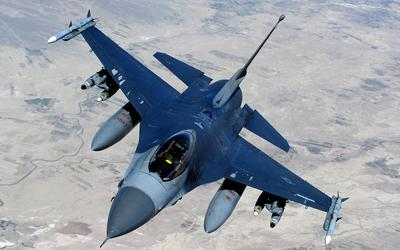 General Dynamics F-16 Fighting Falcon [6] wallpaper