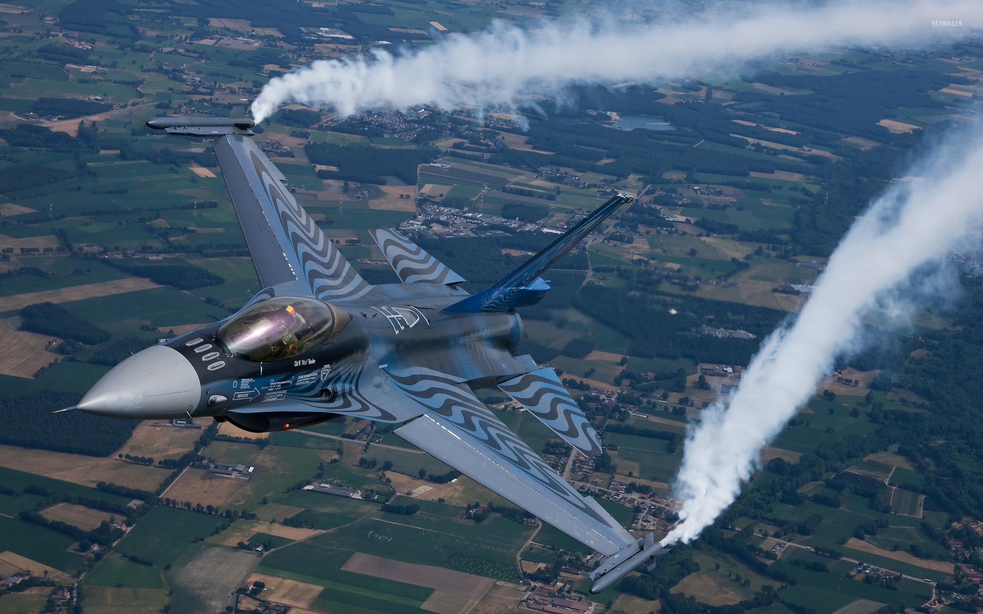 General Dynamics F-16 Fighting Falcon [3] Wallpaper