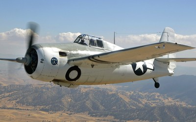 Grumman F4F Wildcat [2] wallpaper