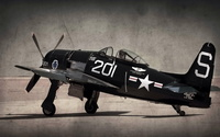 Grumman F8F Bearcat wallpaper 2560x1600 jpg