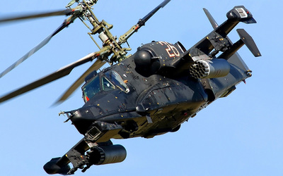 Kamov Ka-50 Black Shark wallpaper