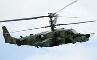 Kamov Ka-50 with camouflage wallpaper 2560x1600 jpg