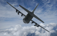Lockheed C-130 Hercules [4] wallpaper 2560x1600 jpg