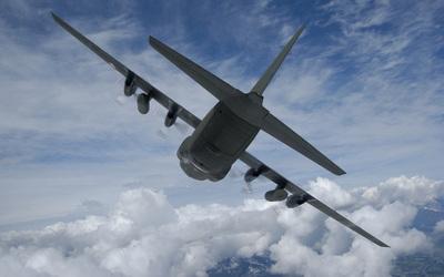 Lockheed C-130 Hercules [4] wallpaper