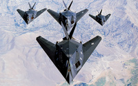 Lockheed F-117 Nighthawk [3] wallpaper 1920x1200 jpg