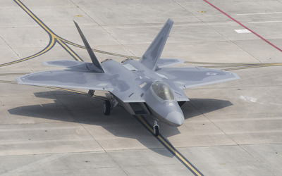 Lockheed Martin F-22 Raptor [2] wallpaper