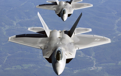 Lockheed Martin F-22 Raptor [9] wallpaper