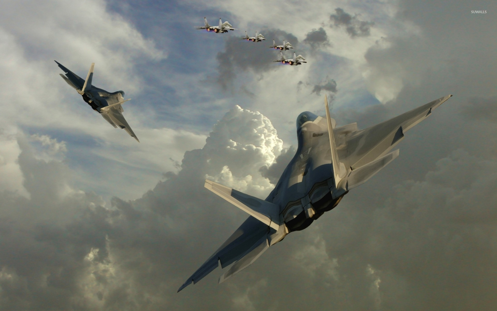 Lockheed Martin F 22 Raptor 3 Wallpaper Aircraft Wallpapers