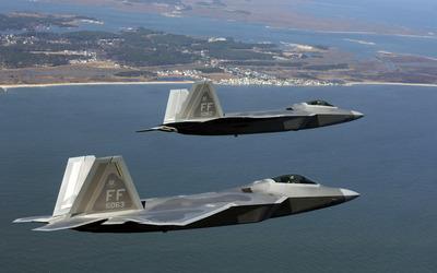 Lockheed Martin F-22 Raptor [7] wallpaper
