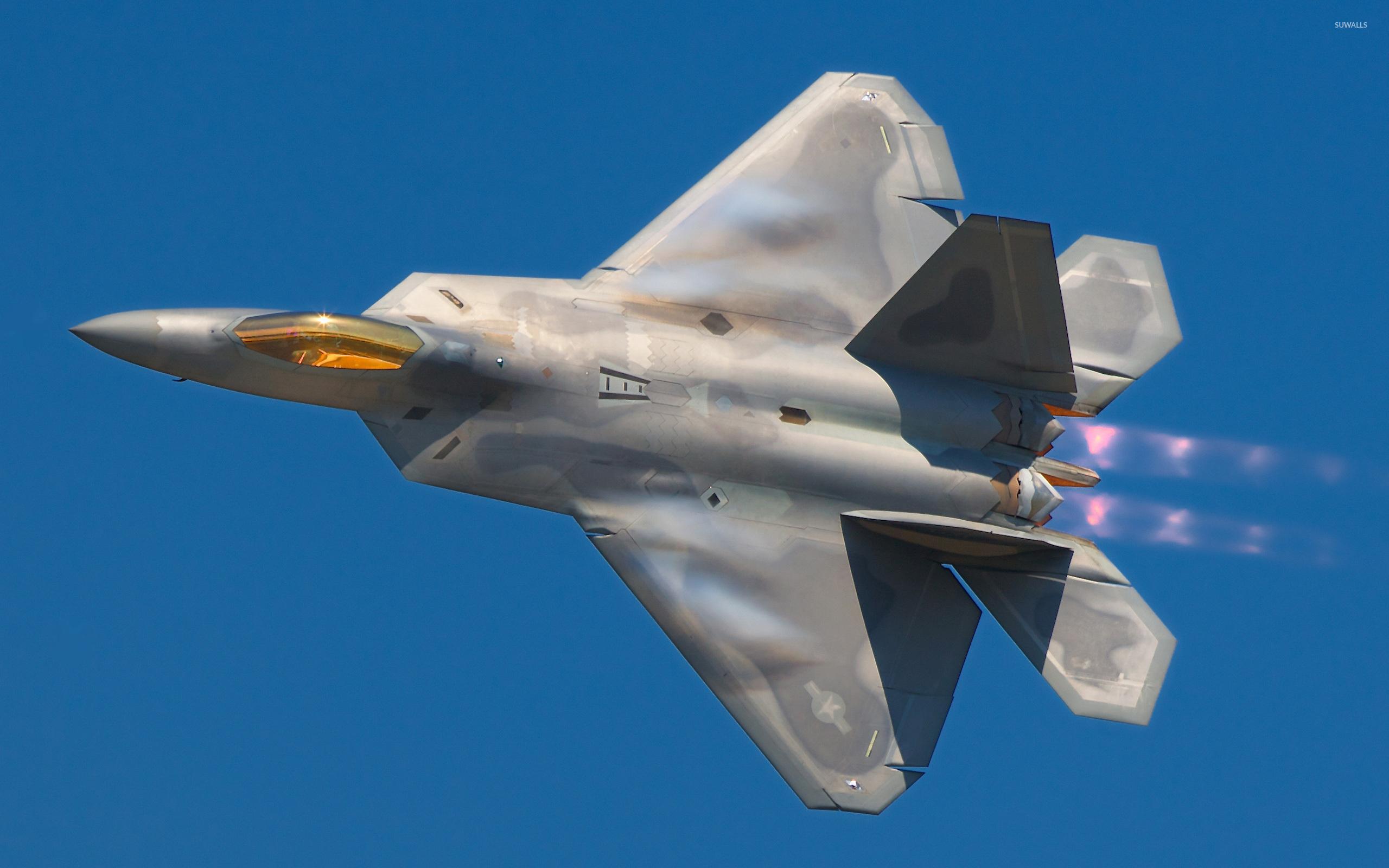 Lockheed Martin F-22 Raptor Desktop Wallpapers HD