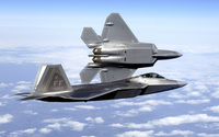 Lockheed Martin F-22 Raptor [4] wallpaper 1920x1200 jpg