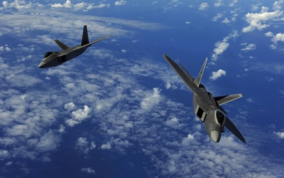 Lockheed Martin F-22A Raptor wallpaper