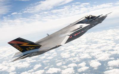 Lockheed-Martin F-35 Lightning wallpaper