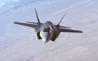 Lockheed Martin F-35 Lightning II [7] wallpaper 2560x1600 jpg