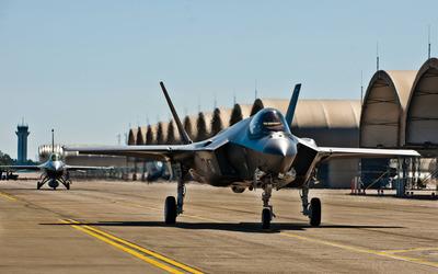 Lockheed Martin F-35 Lightning II [6] wallpaper