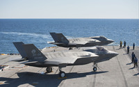 Lockheed Martin F-35 Lightning II [10] wallpaper 2880x1800 jpg