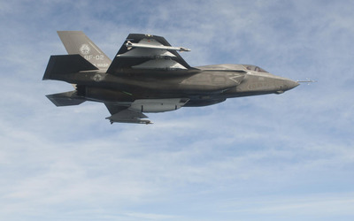 Lockheed Martin F-35 Lightning II [12] wallpaper