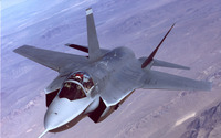 Lockheed Martin F-35 Lightning II [11] wallpaper 1920x1200 jpg